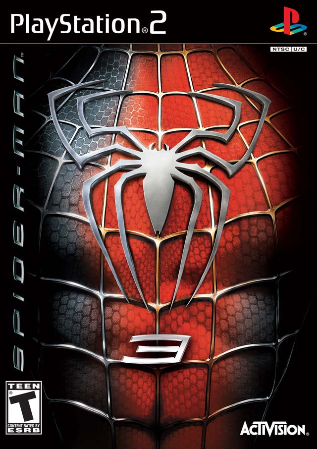 Spiderman 3 Sony Playstation 2 Game