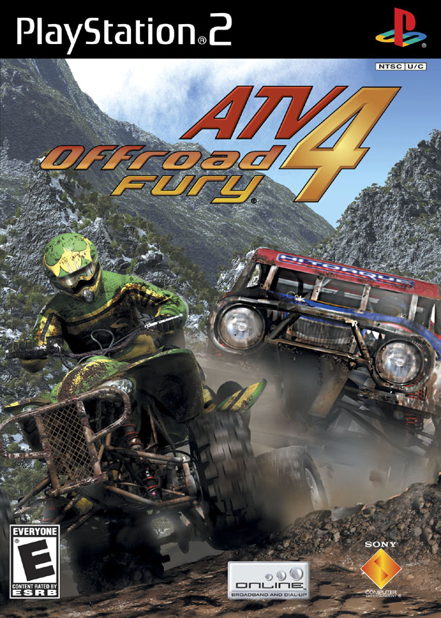 ATV Offroad Fury 4 Sony Playstation 2 Game