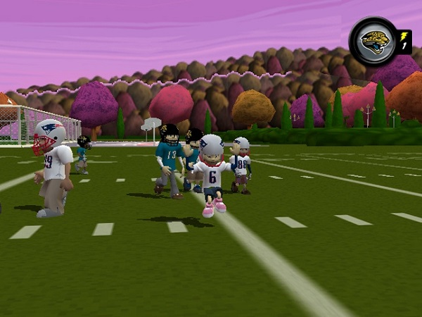 backyard football 09 sony playstation 2 game