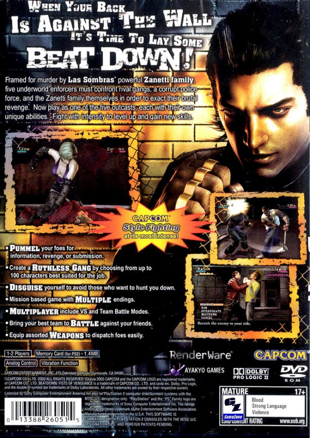 beat down fists of vengeance pc download