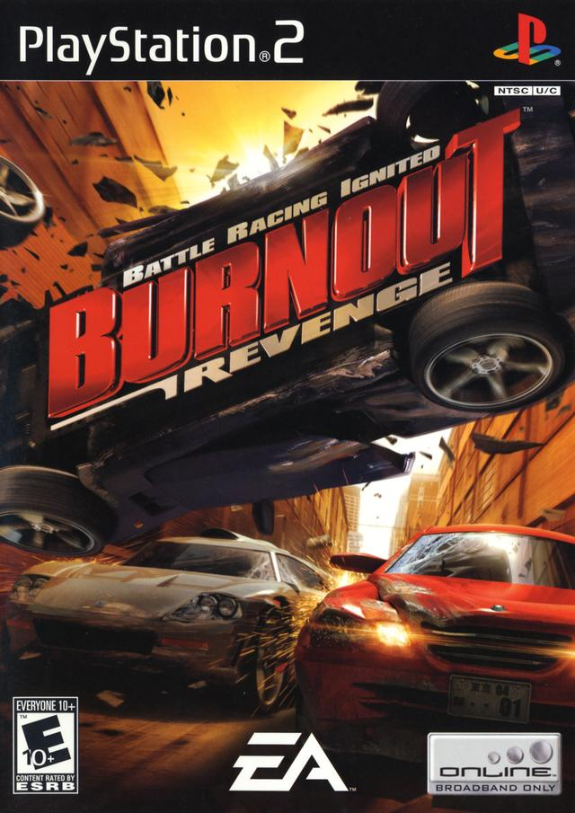 Burnout Revenge Sony Playstation 2 Game