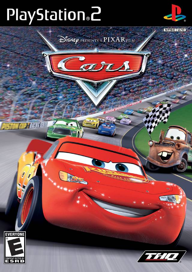 Cars Sony Playstation 2 Game