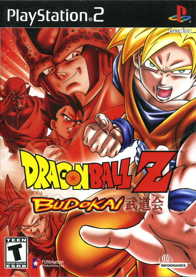 Dragon Ball Z Budokai Sony Playstation 2 Game