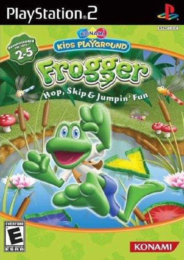 Fun Games For Ps3 : Frogger hop skip jumpin fun sony playstation game