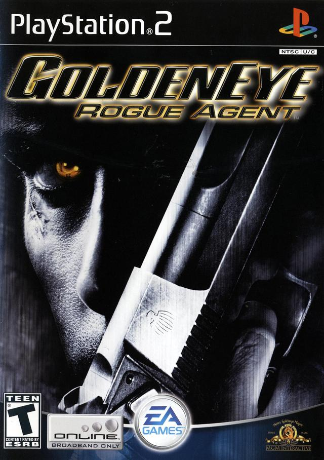 Goldeneye Rogue Agent Sony Playstation 2 Game