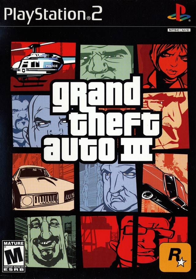 Grand Theft Auto III Sony Playstation 2 Game