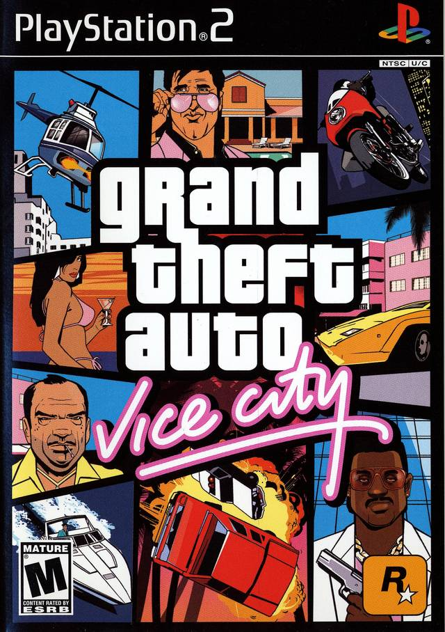 Grand Theft Auto Vice City Sony Playstation 2 Game