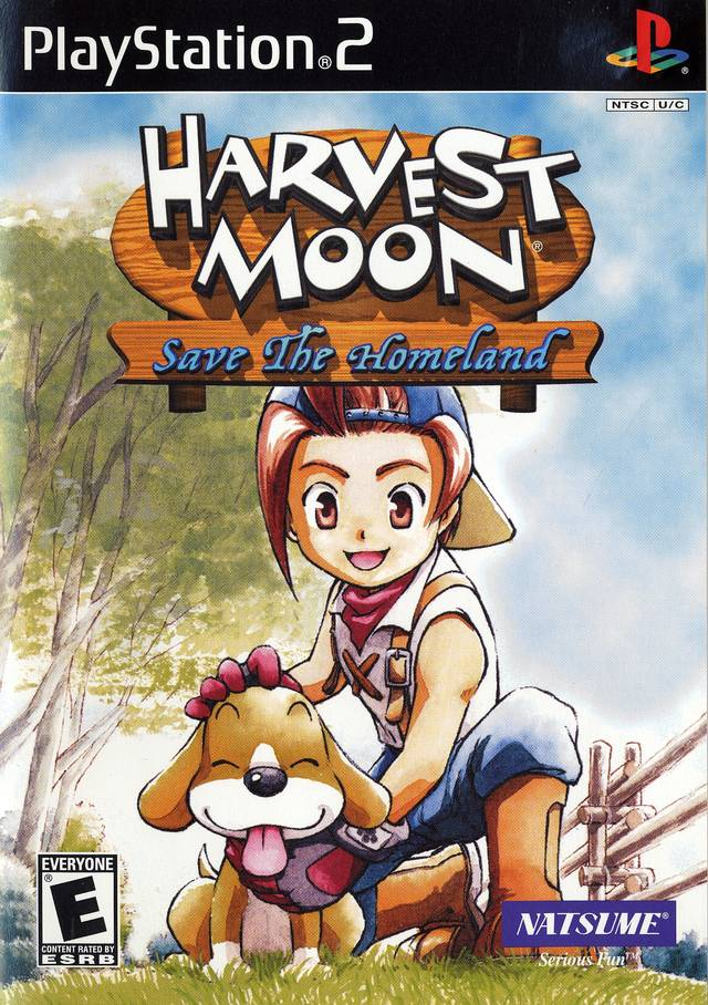 Harvest moon save the homeland sony playstation 2 game
