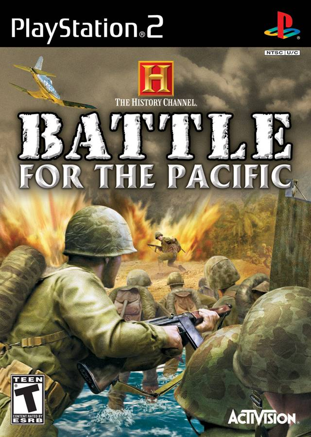 History Games For Ps3 : History channel battle for the pacific sony playstation game