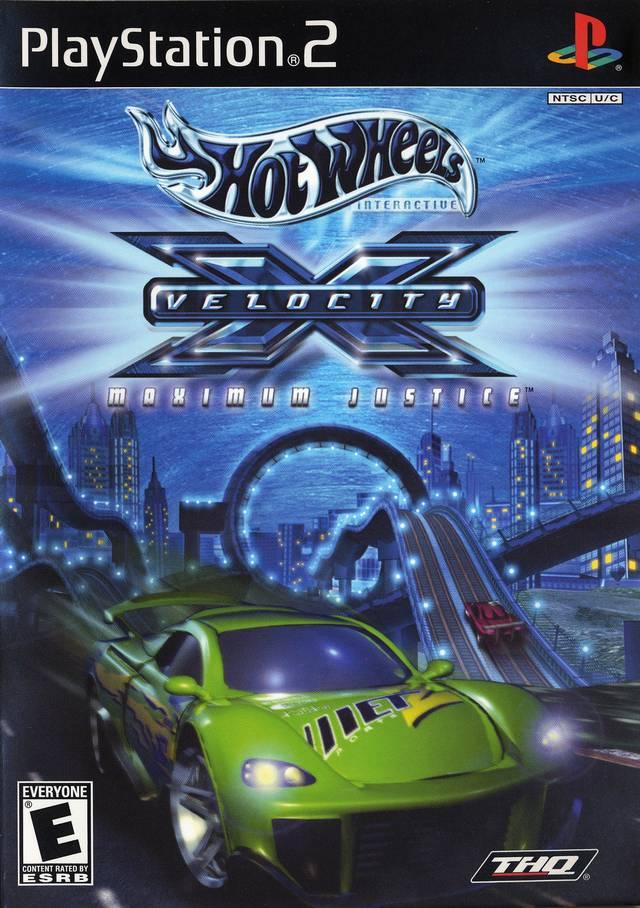 Hot Wheels Velocity X Sony Playstation 2 Game