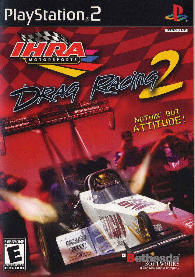 IHRA Drag Racing 2 Sony Playstation 2 Game