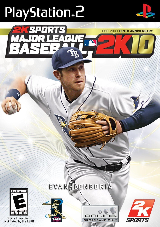 Major League Baseball 2K10 Playstation 2 Game