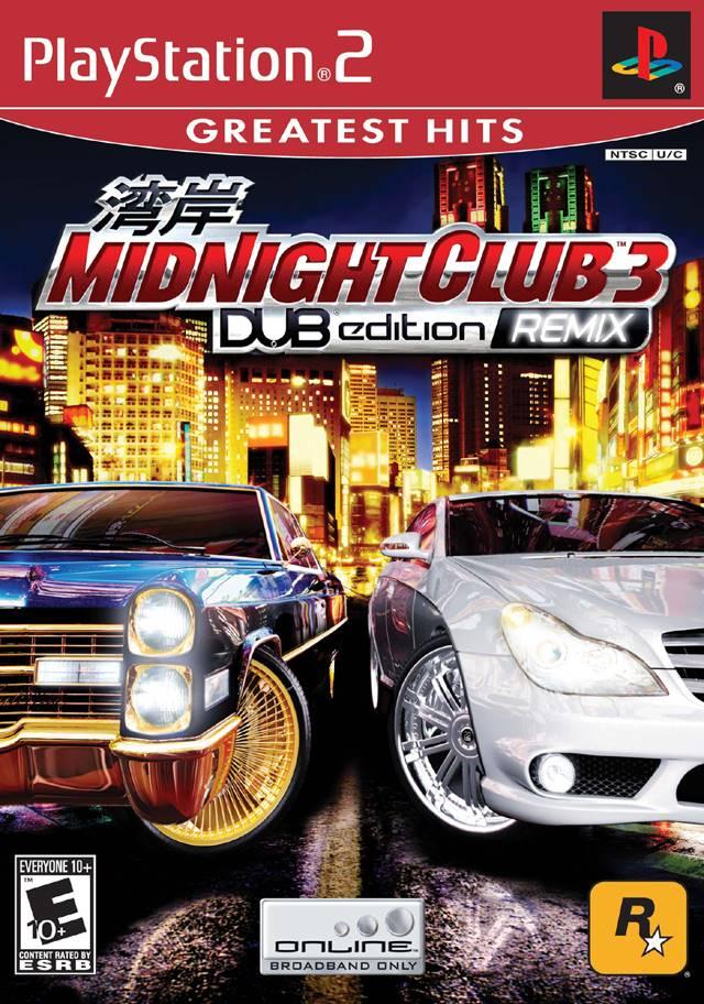 Midnight Club 3 Dub Edition Remix Sony Playstation 2 Game