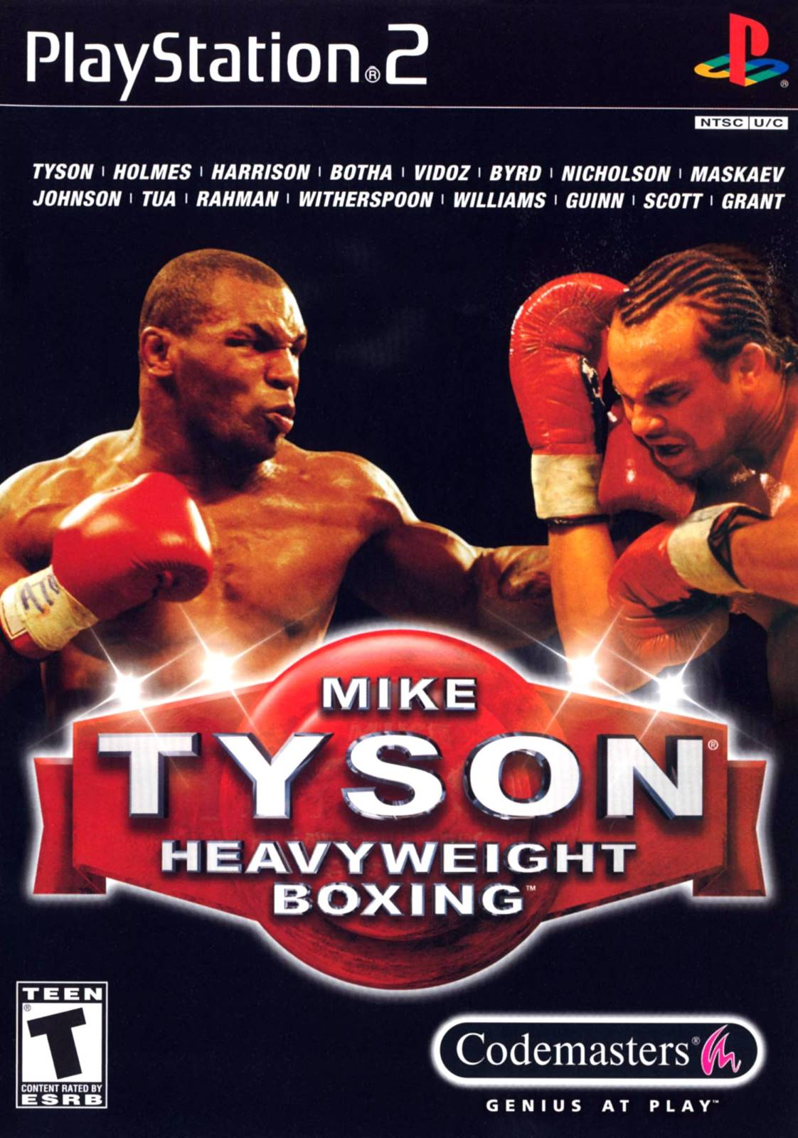 Best Ps Vita Games >> Mike Tyson Boxing Sony Playstation 2 Game