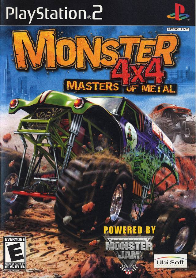 Monster 4x4 Masters of Metal Sony Playstation 2 Game