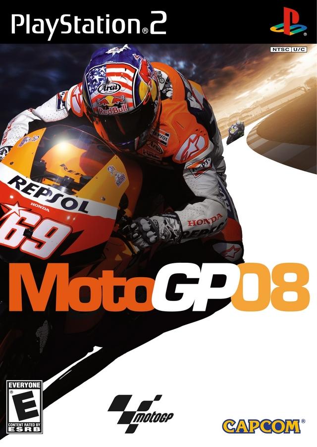 MotoGP 08 Sony Playstation 2 Game