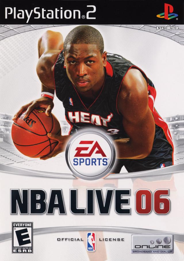 NBA Live 2006 Sony Playstation 2 Game