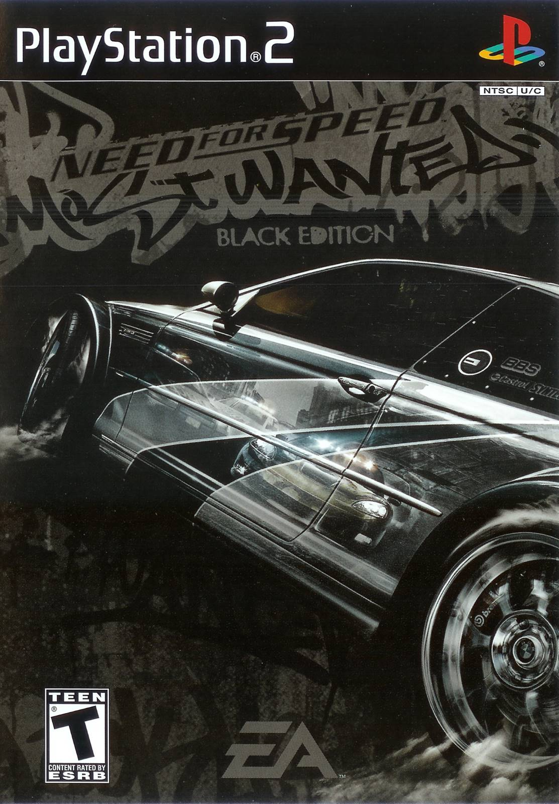 need for speed most wanted black sony playstation 2 game. Black Bedroom Furniture Sets. Home Design Ideas