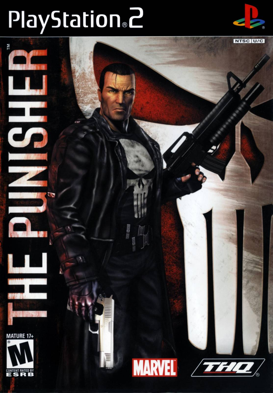 punisher sony playstation 2 game