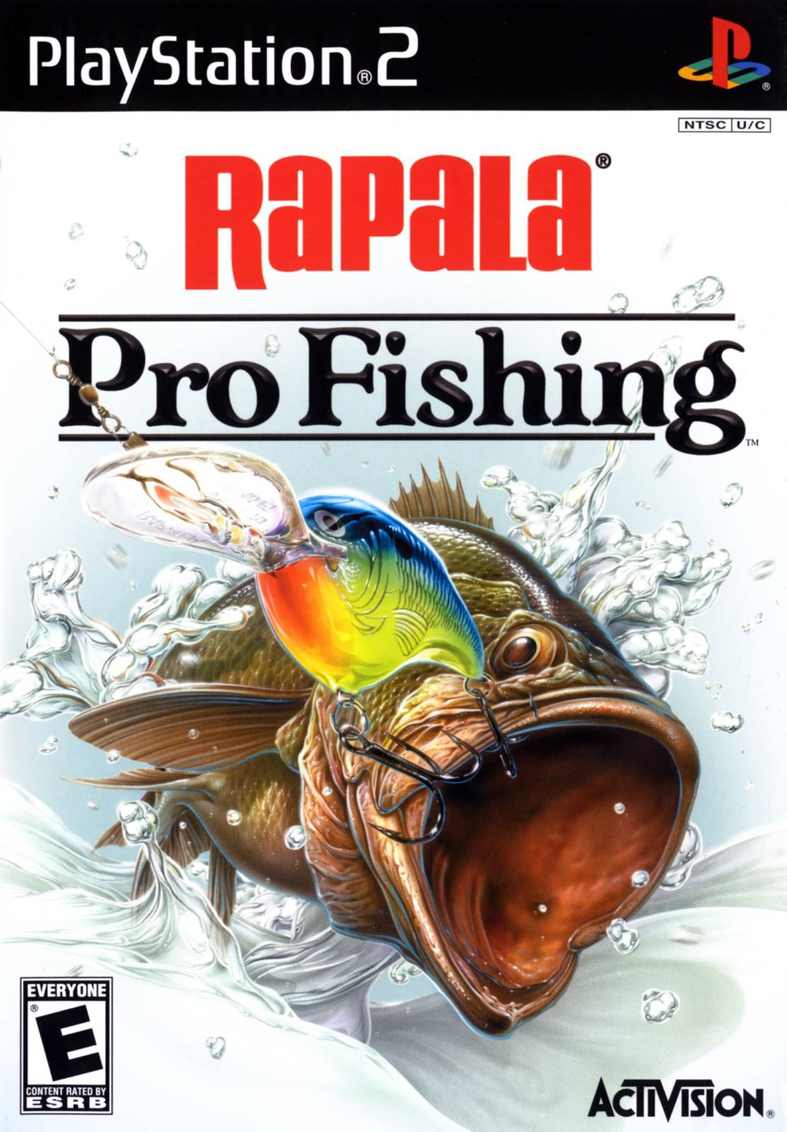 Rapala pro fishing sony playstation 2 game for Ps3 fishing games