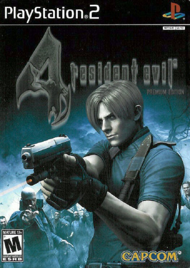 Resident Evil 4 Premium Edition Sony Playstation 2 Game