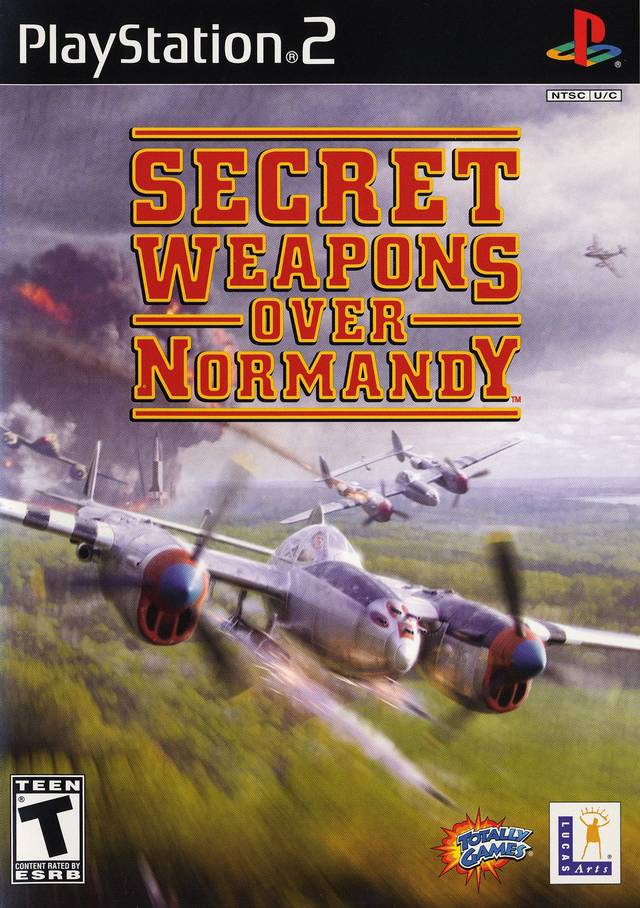 Secret Weapons Over Normandy Sony Playstation 2 Game
