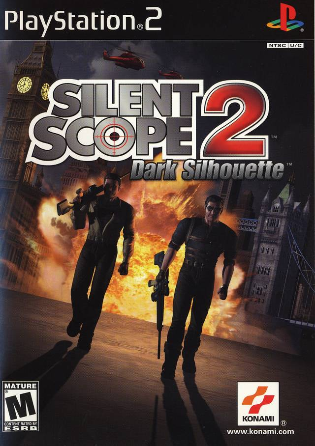 Silent Scope 2 Sony Playstation 2 Game