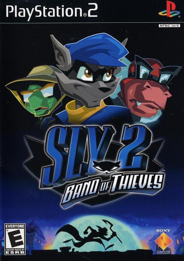 Sly 2 Band of Thieves Sony Playstation 2 Game
