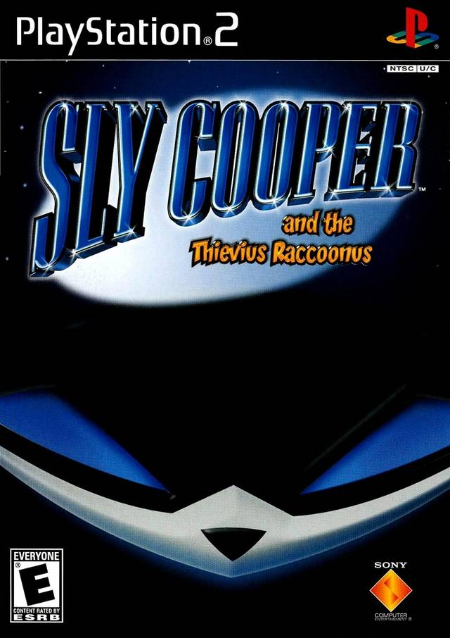 Sly Cooper Sony Playstation 2 Game