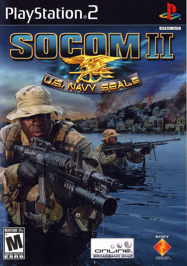 Socom Ii Us Navy Seals Sony Playstation 2 Game