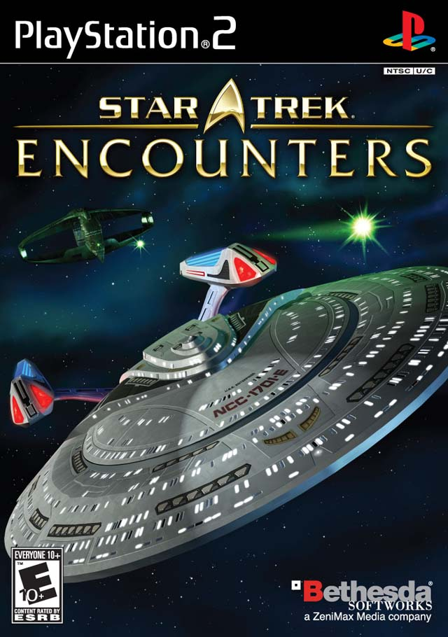 Star Trek Encounters Sony Playstation 2 Game