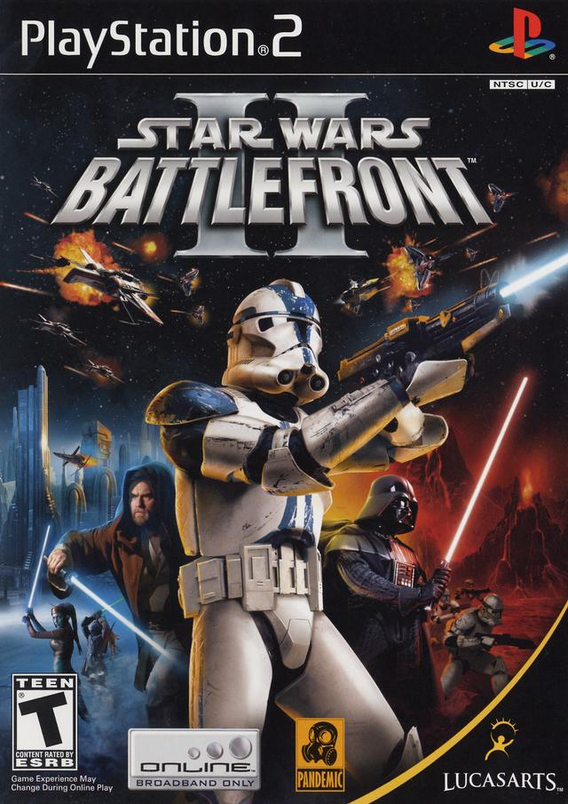 Star Wars Battlefront 2 Sony Playstation 2 Game