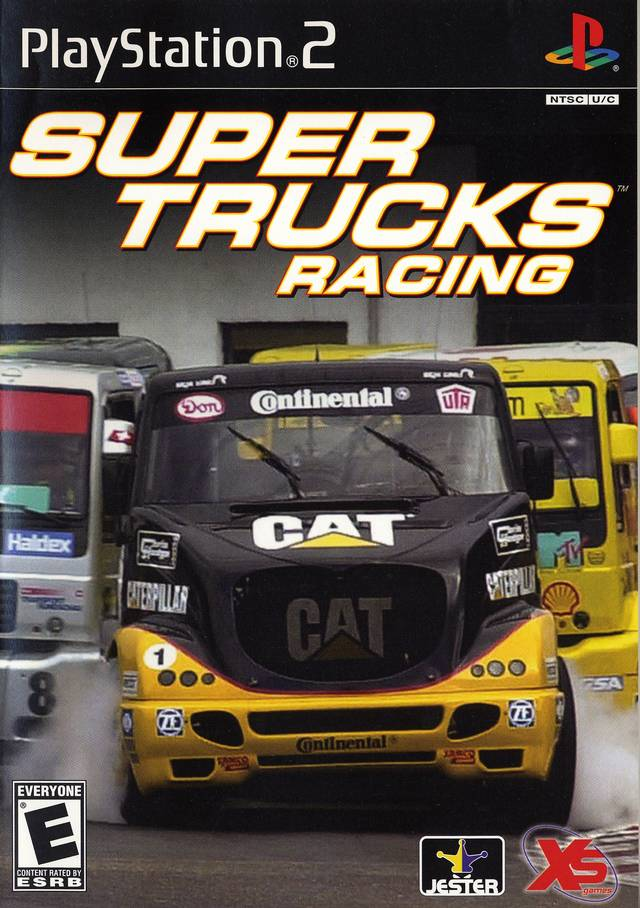 Super Trucks Racing Sony Playstation 2 Game