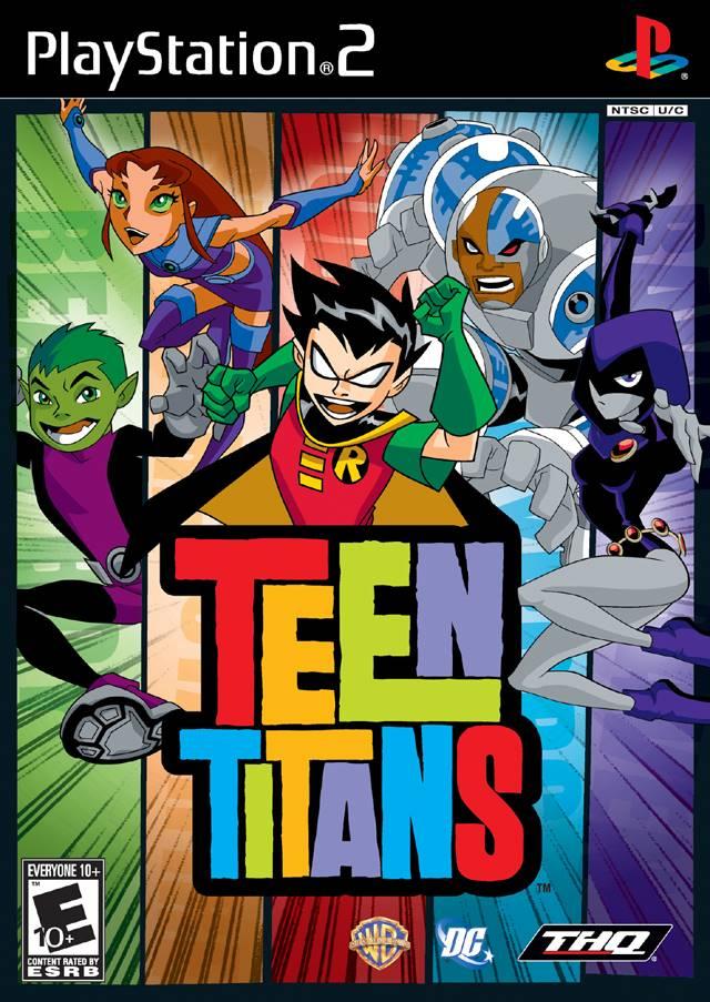 Teen Titans Playstation 23