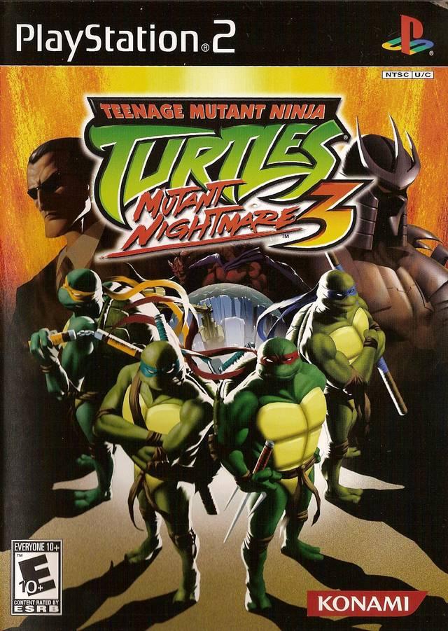 Teenage Mutant Ninja Turtles 3 Mutant Nightmare Sony