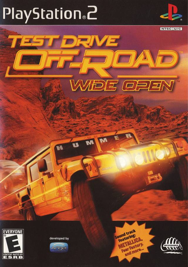 test drive off road sony playstation 2 game