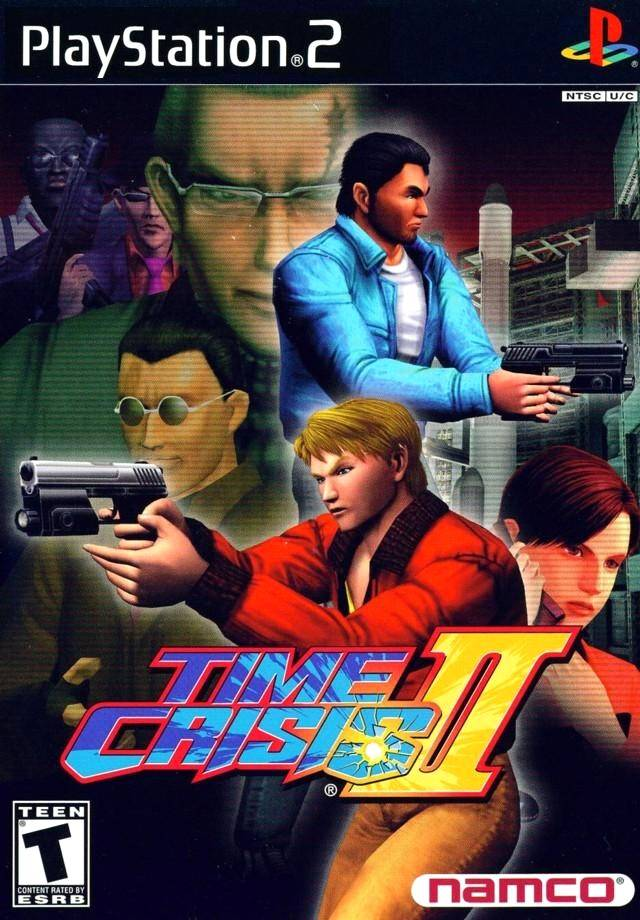 Time Crisis 2 Sony Playstation 2 Game