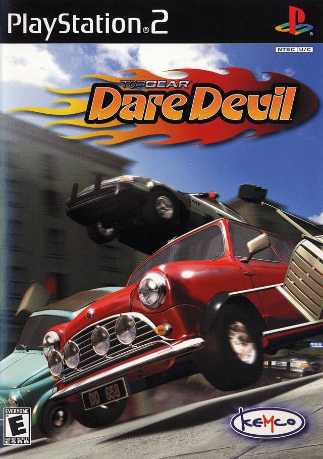 Top Gear Daredevil Sony Playstation 2 Game