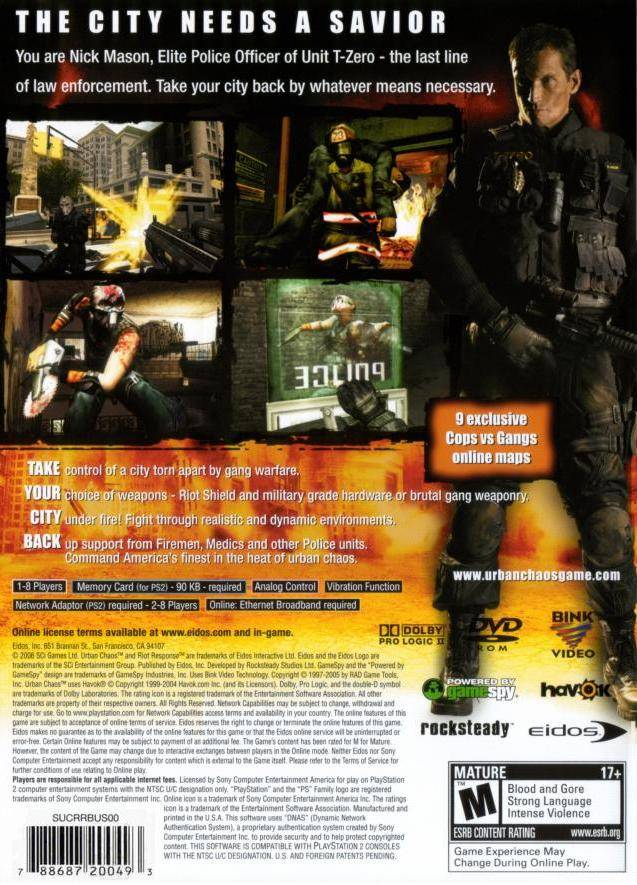 Kunena :: Topic: Urban Chaos: Riot Response full game free