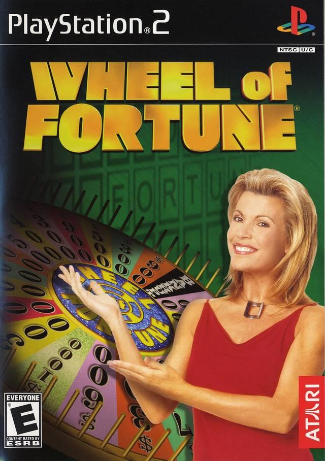 wheel of fortune sony playstation 2 game. Black Bedroom Furniture Sets. Home Design Ideas