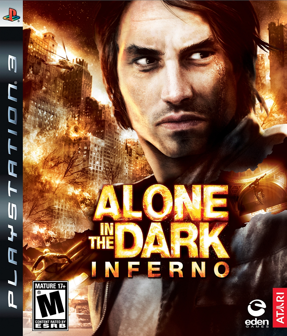 Alone in the dark inferno playstation 3 game for Alone in the dark 3