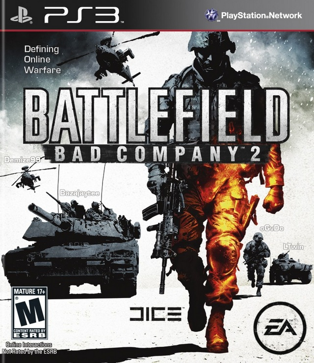 Battlefield: Bad Company 2 Playstation 3 Game