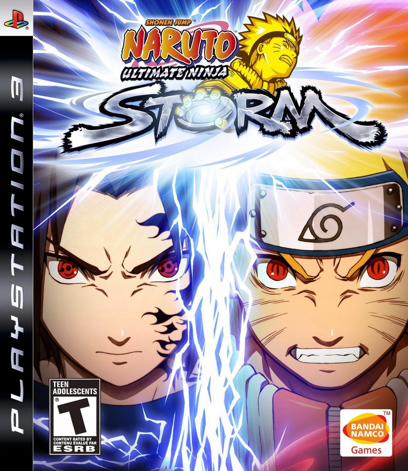 Naruto Ultimate Ninja Storm Playstation 3 Game