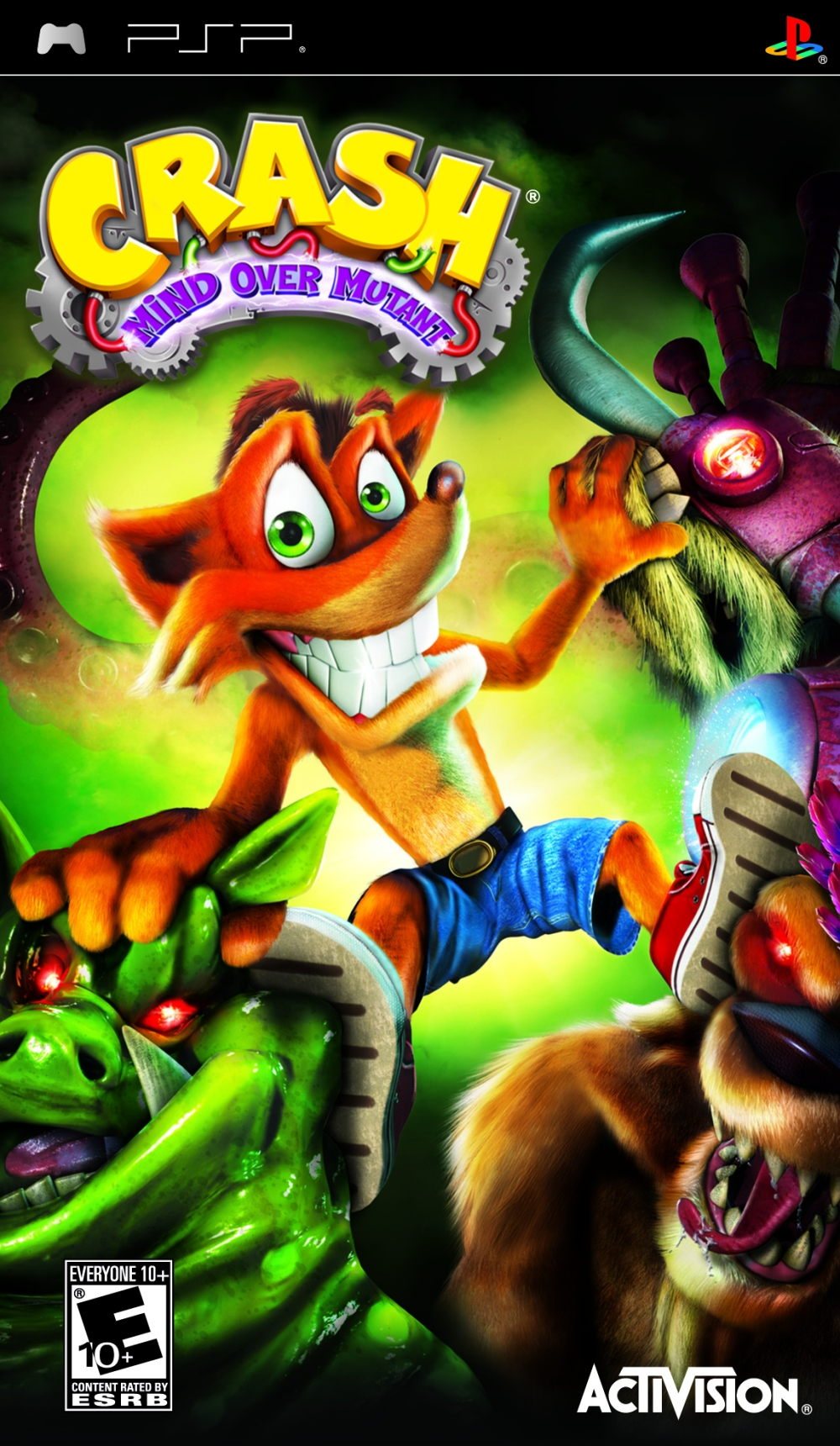 Mind Over Malls Or Does Academia Hate Fashion: Crash Bandicoot Mind Over Mutant PSP Game