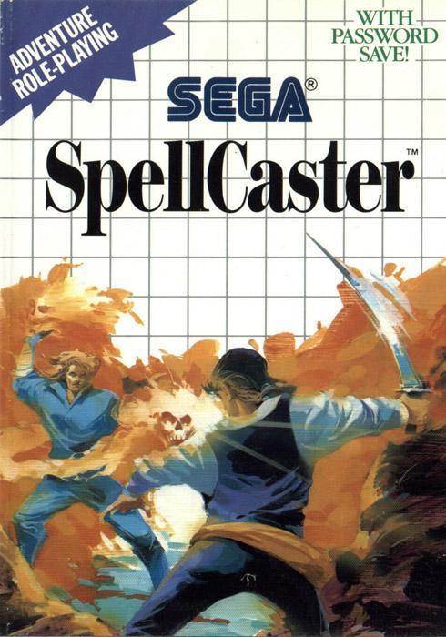 Spellcaster Sega Master System Game
