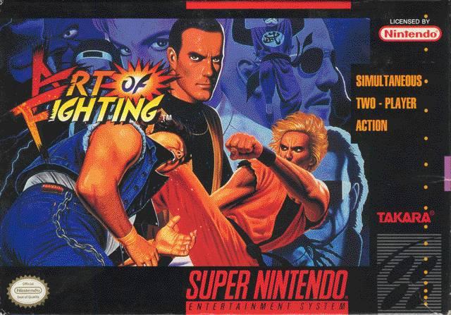 Art Of Fighting Snes Super Nintendo