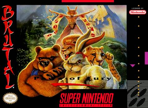 Brutal paws of fury snes super nintendo - How much is a super nintendo console worth ...