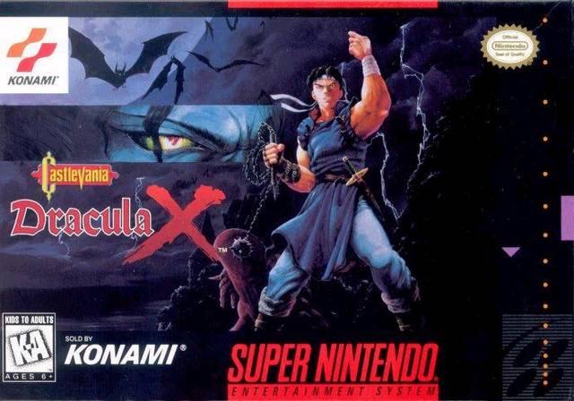 Castlevania Dracula X Snes Super Nintendo