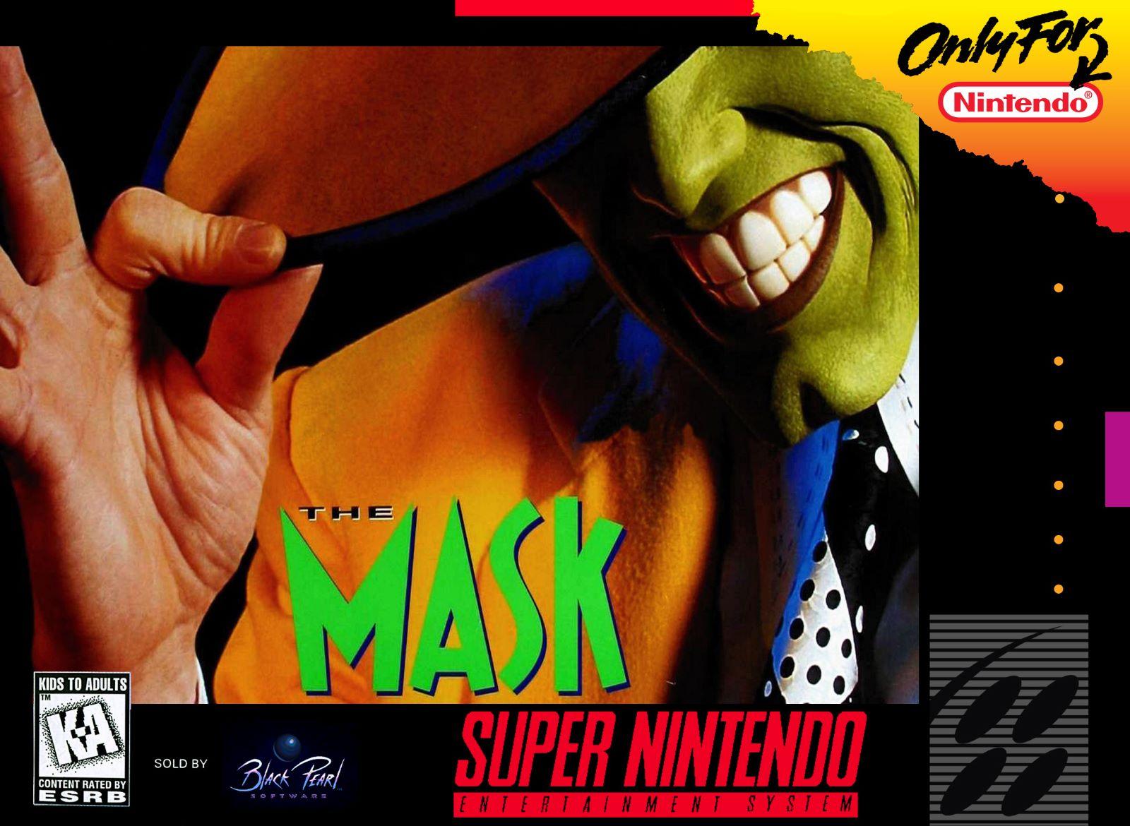 Mask Snes Super Nintendo