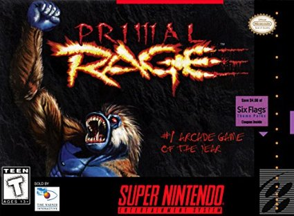 Primal Rage SNES Super Nintendo